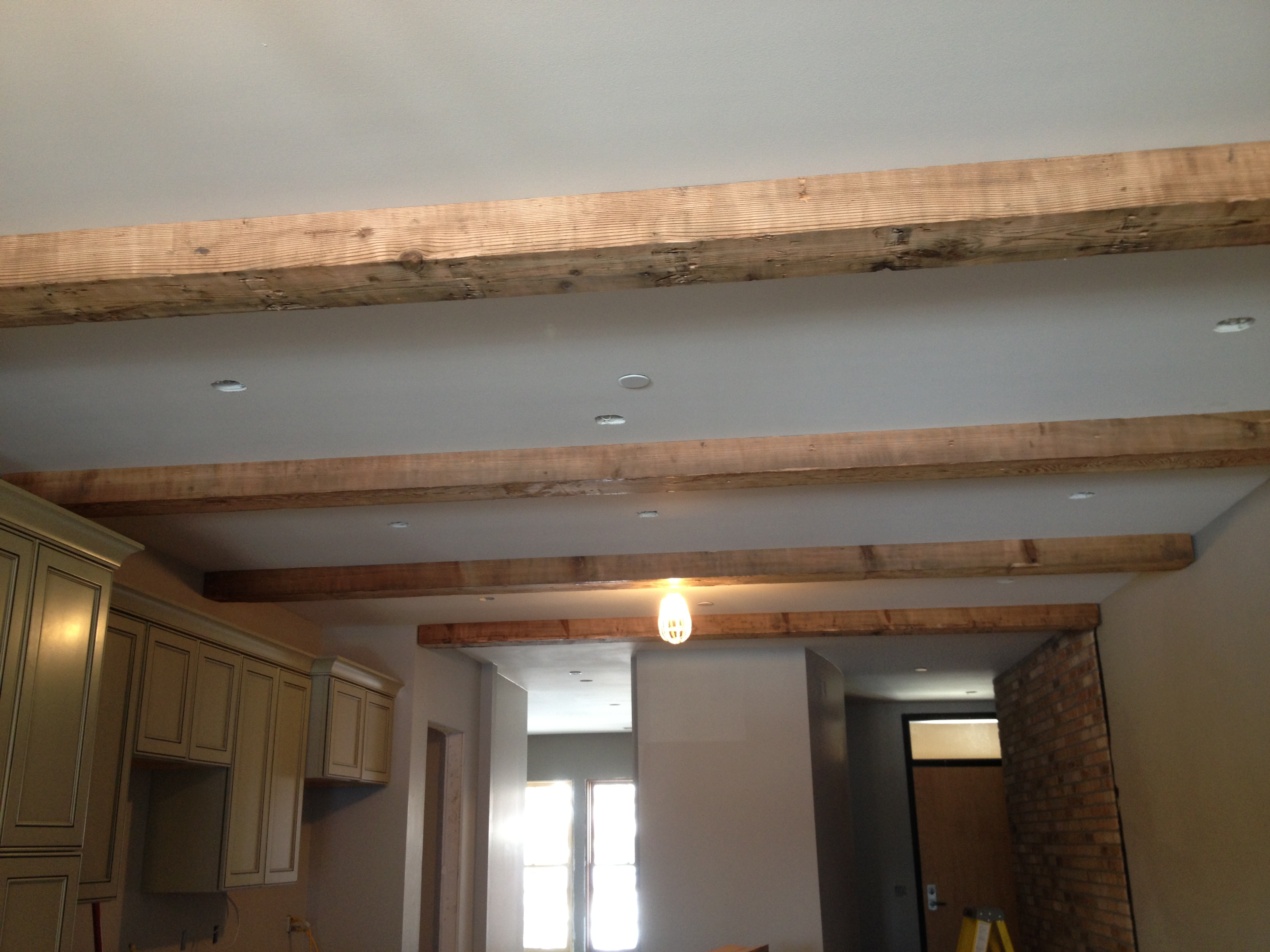 Beam me up kilbourne group for Adding wood beams to ceiling