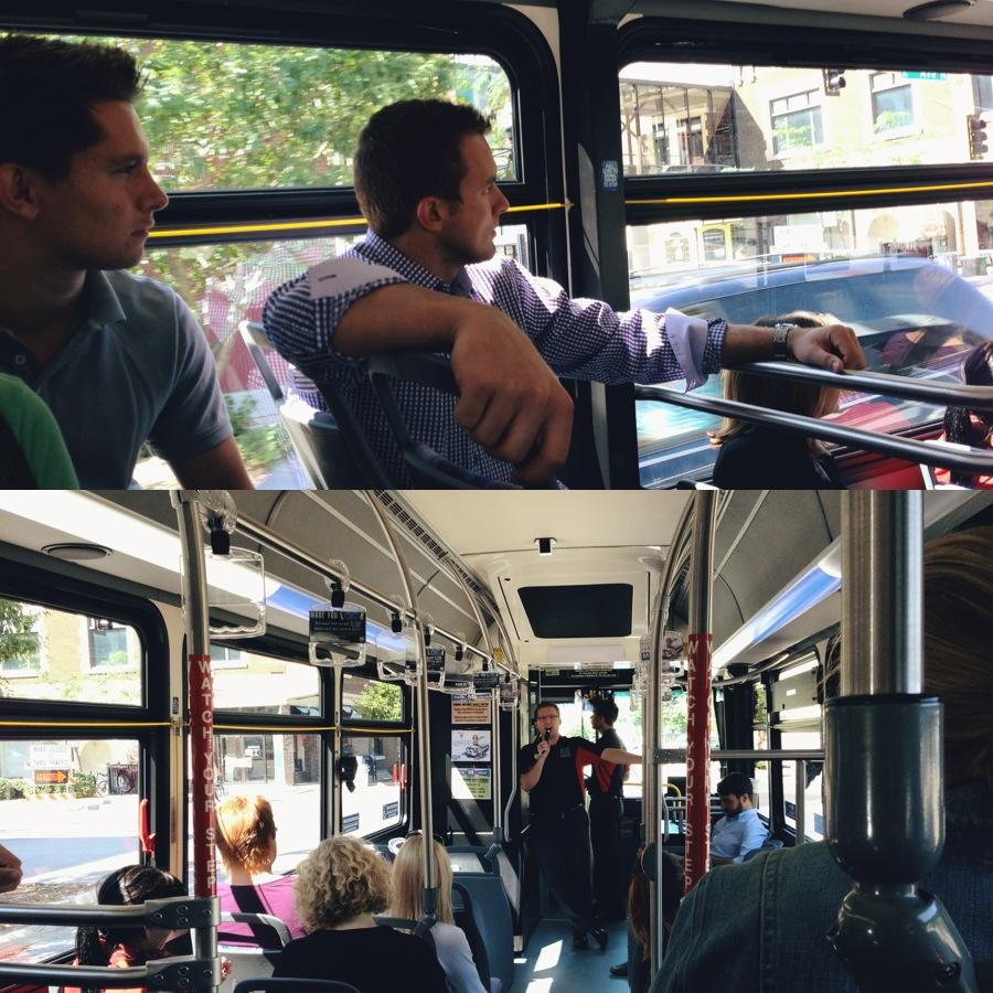 bus collage