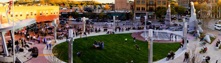 Main Street Square in Rapid City, South Dakota