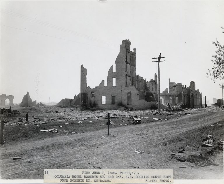 Ruins of the Columbia Hotel