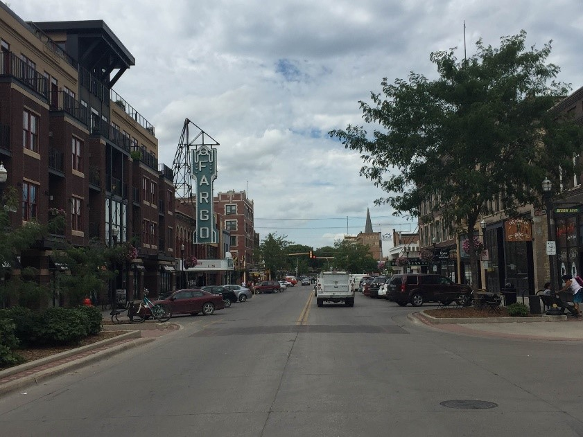Downtown Fargo Walking Tour July 22 Red River Market at 11 am