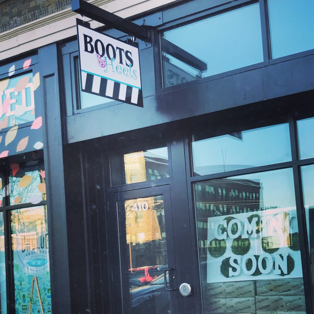 Boots Heels is Strutting into Downtown Fargo in April Kilbourne